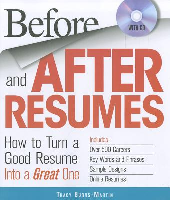 Before and After Resumes By Burns-martin, Tracy